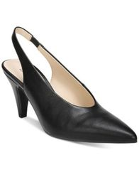 Image of Bar III Tanya Slingback Pointed Toe Pumps, Created for Macy's