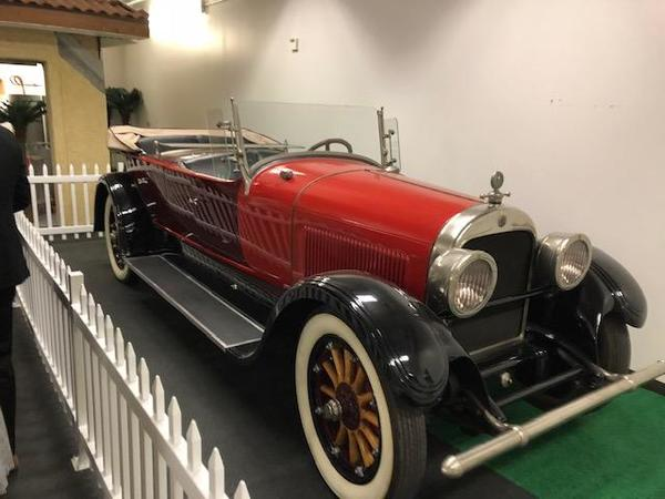 Farmers Insurance 1st Insured Vehichle honored at the Hall of Fame in California!