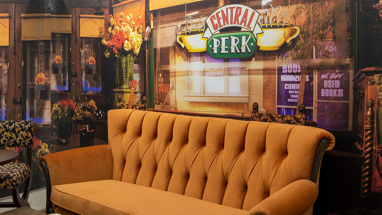 Central Perk Cafe in Manchester Primark Store