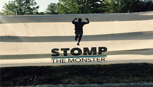 Stomp The Monster raises money to help stomp out cancer!