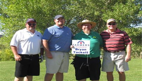 The best golf team supporting March of Dimes raised over 10,000.
