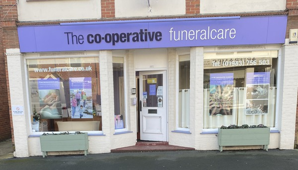 The Co-operative Funeralcare Storefront