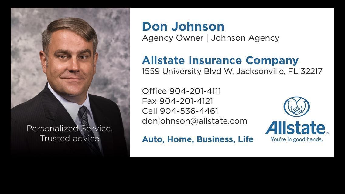 Allstate | Car Insurance in Jacksonville, FL - Don Johnson