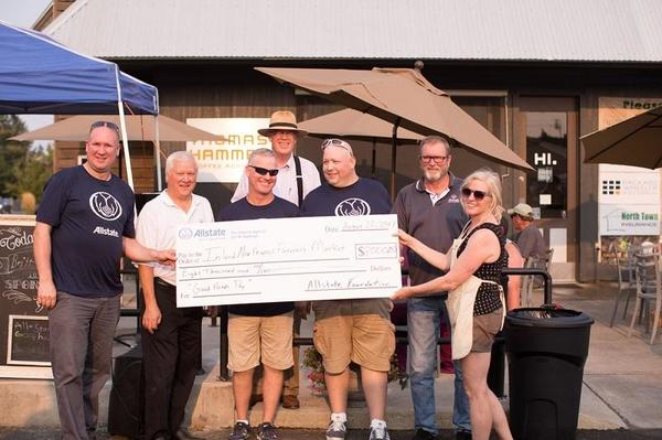 Ryan Matthew Yohe - Allstate Foundation Helping Hands Grant for Inland Northwest Farmers Market Association