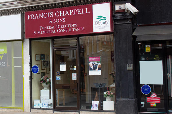 Francis Chappell & Sons Funeral Directors in Upper Norwood