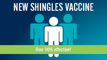 New Shingles Vaccine! Over 90% effective