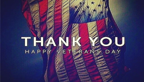 Thank you - Happy Veterans Day