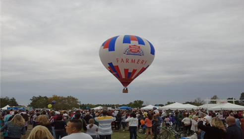 Saint Louis Hot Air Balloon Show