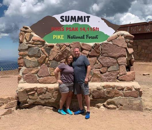 Agent and husband in Colorado