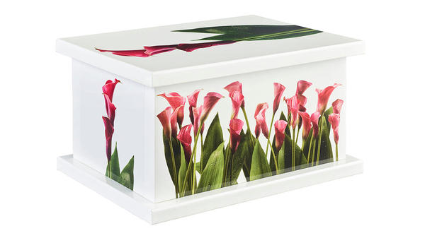 Lily Scene from our Picture Urns collection