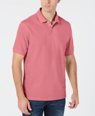 Image of Club Room Men's Classic Fit Performance Pique Polo, Created for Macy's