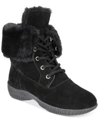Image of Style & Co Angiee Lace-Up Cold Weather Boots, Created for Macy's