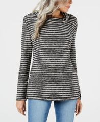 Image of Karen Scott Cowl-Neck Top, Created for Macy's