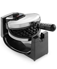 Image of Bella 13991 Polished Stainless Steel Rotary Waffle Maker