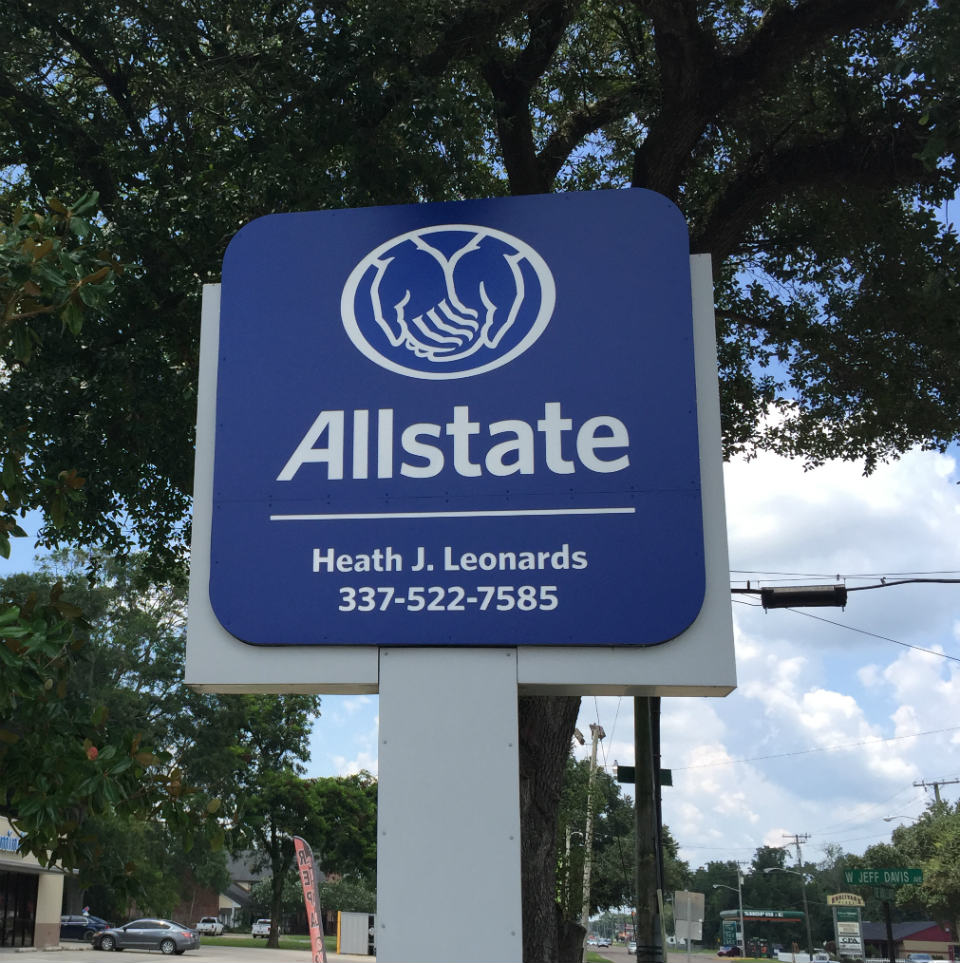 Allstate Insurance Quote: Car Insurance In Rayne, LA - Heath Leonards