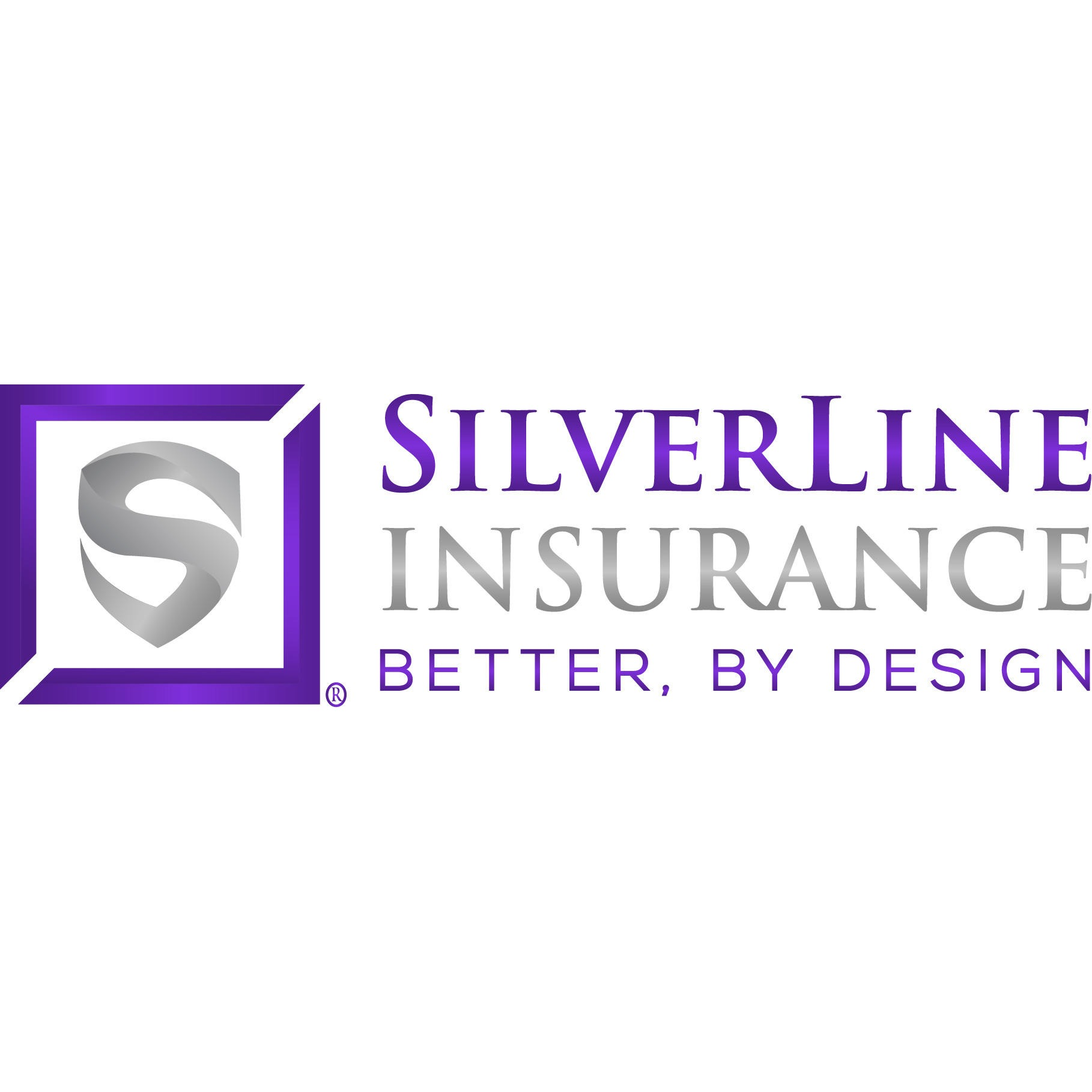 S Shield logo and Silverline Insurance better by design wording