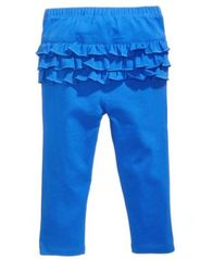 Image of First Impressions Ruffle-Back Leggings, Baby Girls, Created for Macy's