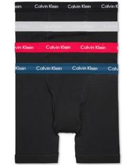 Image of Calvin Klein 3-Pack Classic Boxer Briefs +1 Bonus Pair, Created for Macy's NB1175