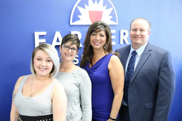 My hard working team.  L to R:  Ashley Gill, Kristie Folley, LeeAnn Damron, Robert Brown