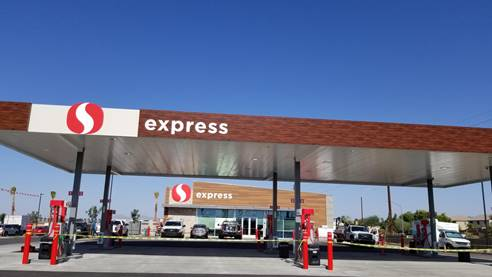 Safeway express store front picture for 4264 south signal butte road in mesa arizona