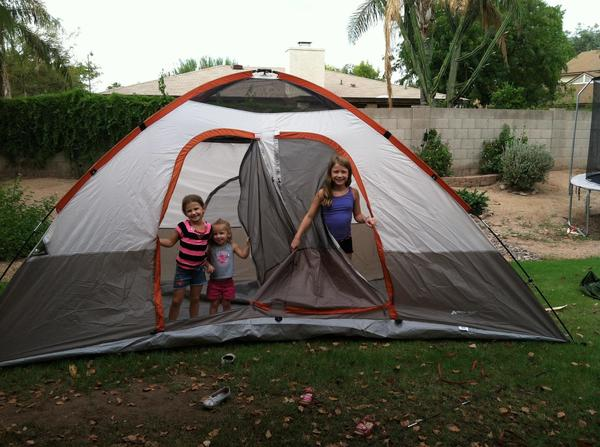 My girls and I love to camp.  We have an RV that we take across the country and explore!