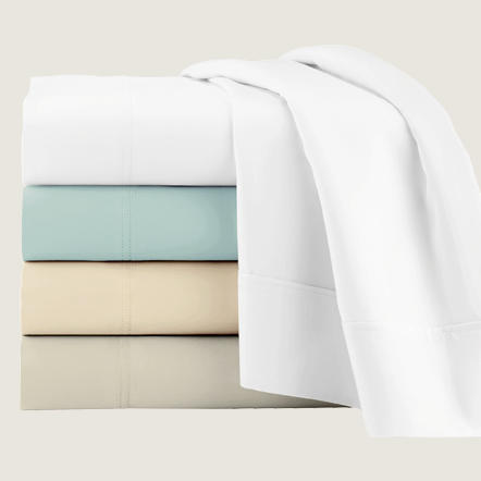 With a wide assortment of brands, fabrics, and features, Tuesday Morning has the perfect sheet for everyone. Whether you want the luxury of 100% Egyptian cotton, the cooling comfort of bamboo, or the coziness of flannel, you can rest easy knowing you got the perfect sheet at a great price.