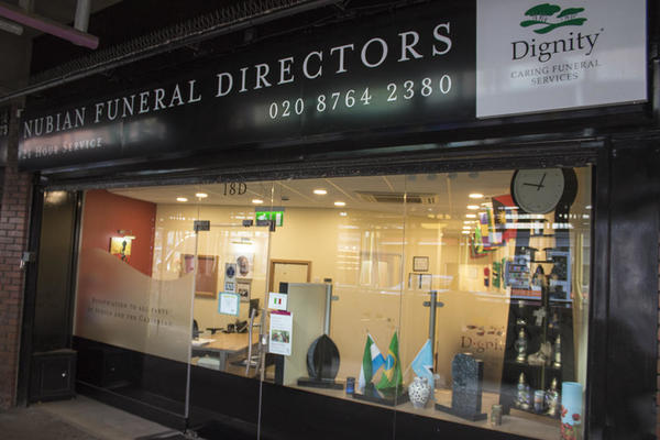 Nubian Funeral Directors in Willesden