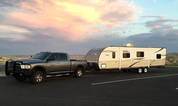 Camping in the Badlands!