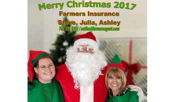 Merry Christmas from Steve, Julia, and Ashley!