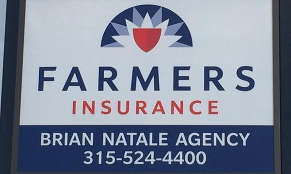 Farmers insurance logo for the Brian Natale Agency