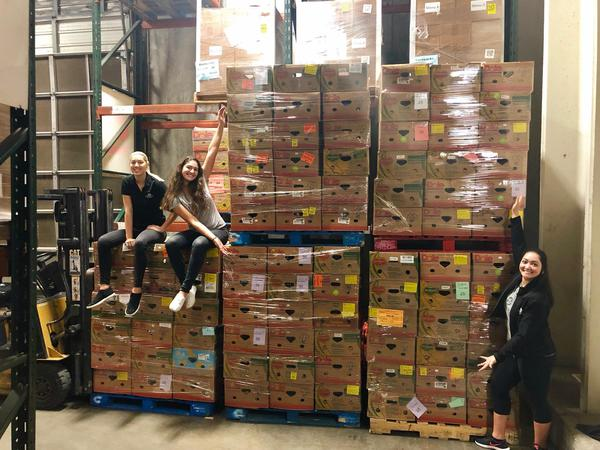Volunteered at the Food Bank of Corpus Christi