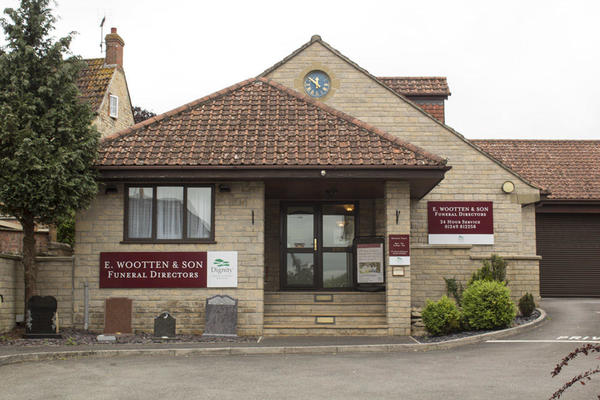 E Wootten & Son Funeral Directors in Calne, Wiltshire.