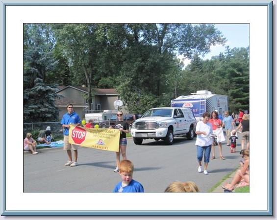 Slice of Shoreview parade