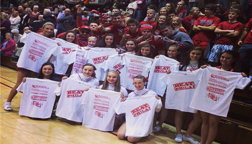 #WeareDover shirts for the Dover Boys Basketball team!