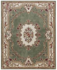 Image of KM Home Dynasty Aubusson 5' x 8' Area Rug, Created for Macy's