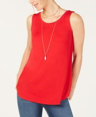 Image of Style & Co Swing-Fit Tank Top, Created for Macy's