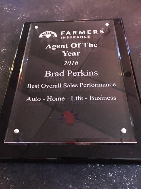 My 2016 Agent of the Year Award