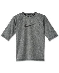 Image of Nike Big Boys Swoosh-Print Rash Guard
