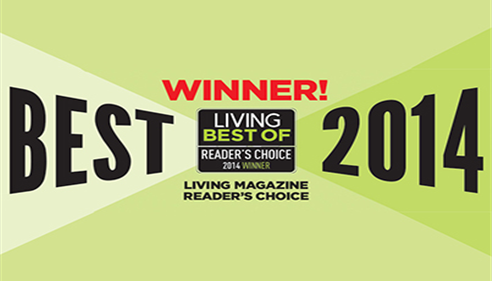 Best Insurance Agent voted by readers of Living Magazine 2nd year in a row!