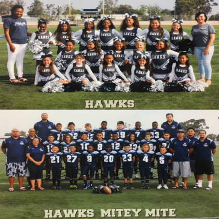 Harries Insurance Agency - Clairemont Hawks Youth Football and Cheer