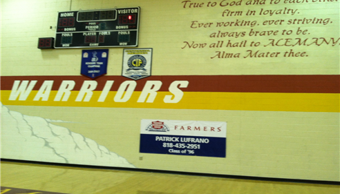 Bishop Alemany High School Sports Team Sponsor