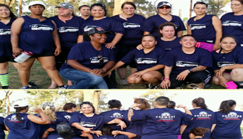 "MY CO-SPONSORED SOFTBALL TEAM ""FARMERS®"""