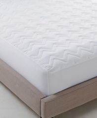 Image of Martha Stewart Essentials Classic Queen Mattress Pad, Created for Macy's