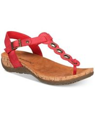 Image of BEARPAW Women's Jean T-Strap Sandals
