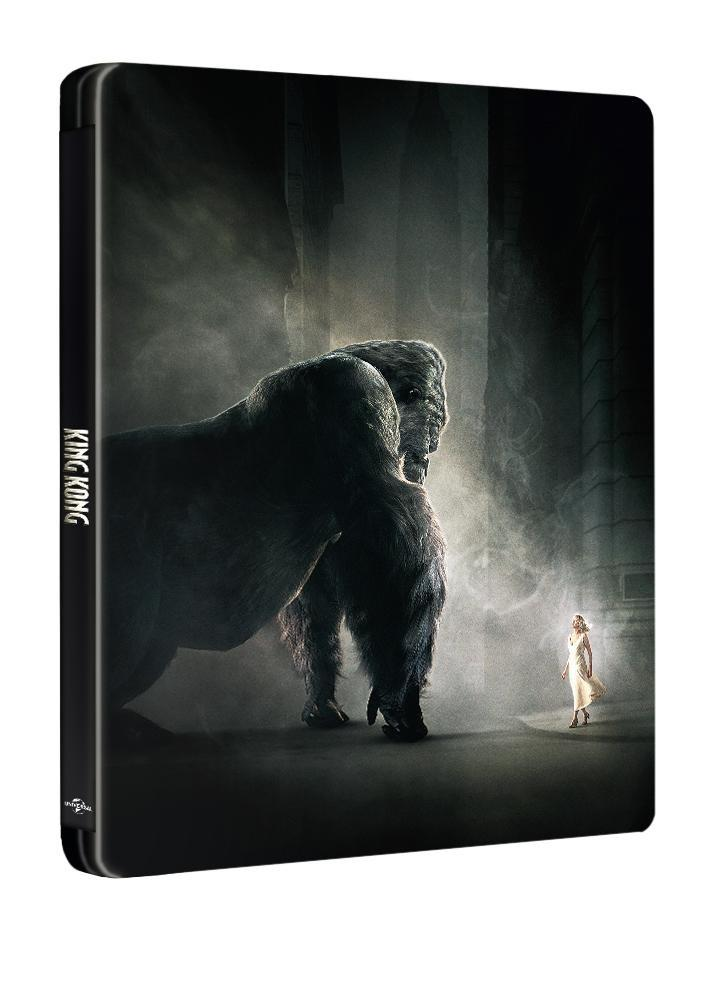 Image of King Kong (2005) [Exclusive Blu-ray Steelbook]