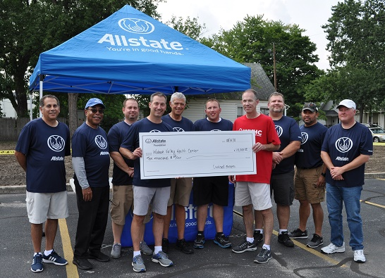 Sam Tanoos - Allstate Foundation Helping Hands Grant for Wabash Valley Health Center