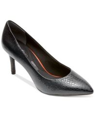 Image of Rockport Women's Total Motion Pointed-Toe Pumps