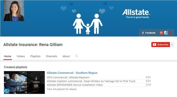 Rena Gilliam - Rena Gilliam YouTube Channel