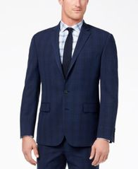Image of CLOSEOUT! Ryan Seacrest Distinction™ Men's Ultimate Modern-Fit Stretch Suit Jackets, Created for Mac