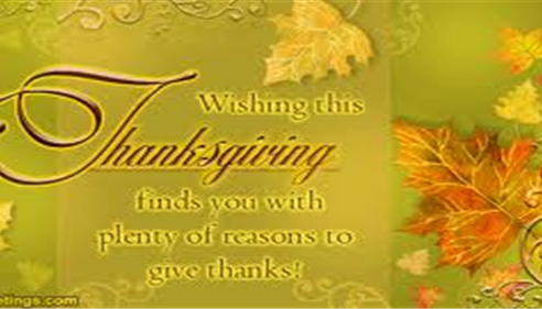 Wishing all our clients a Happy Thanksgiving!!